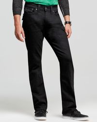 True Religion | Jeans - Ricky Relaxed Fit In Black Midnight for Men | Lyst