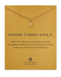 Dogeared | Metallic Good Vibes Only Necklace, 18"