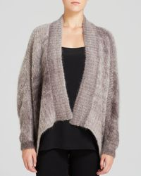 Eileen Fisher | Gray Ombre Cocoon Cardigan - The Fisher Project | Lyst