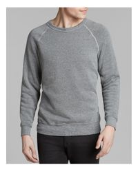 Alternative Apparel | Gray The Champ Fleece Crewneck Sweatshirt for Men | Lyst