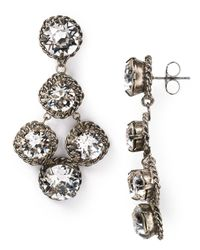 Sorrelli | Metallic Crystal Rock Earrings | Lyst