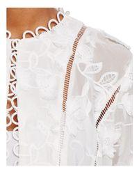 T Tahari - White Cardea Embellished Jacket - Lyst