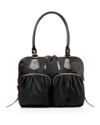 MZ Wallace | Black Jane Satchel | Lyst