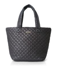 MZ Wallace | Gray Oxford Metro Medium Tote | Lyst