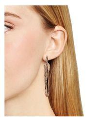 Alexis Bittar - Metallic Miss Havisham Encrusted Orbiting Hoop Earrings - Lyst