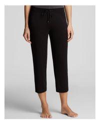 DKNY | Black Urban Essential Capri Pants | Lyst