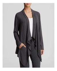 DKNY | Gray Urban Essential Long Sleeve Cozy | Lyst