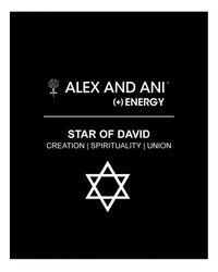 ALEX AND ANI | Metallic Star Of David Iii Expandable Wire Bangle | Lyst
