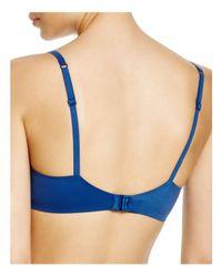 Calvin Klein - Blue Perfectly Fit Modern T-shirt Bra #f3837 - Lyst