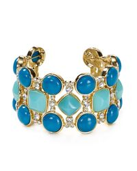 ABS By Allen Schwartz | Blue Statement Cuff | Lyst