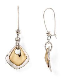 Robert Lee Morris   Metallic Shepherd's Hook Drop Earrings   Lyst