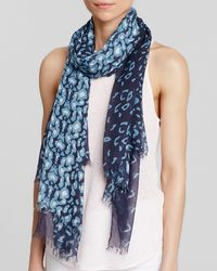 Aqua | Blue Animal Print Scarf - 100% Exclusive | Lyst