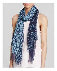 Aqua | Blue Animal Print Scarf - 100% Exclusive | Lyst