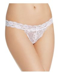 Honeydew Intimates | White Mollie Lace Thong | Lyst
