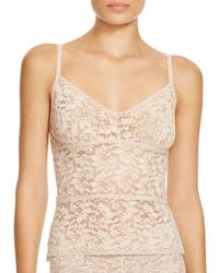 Hanky Panky | Natural Retro Stretch Lace Cami | Lyst