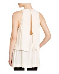Free People - White Layers In Love Tunic - Lyst