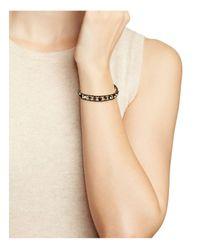 Chan Luu - Metallic Beaded Leather Bracelet - Lyst