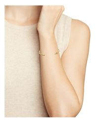 Elizabeth and James - Metallic Signature Vogel Cuff - Lyst