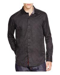 Robert Graham   Black Cullen Classic Fit Button-down Shirt for Men   Lyst