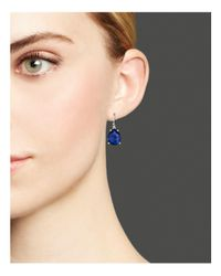 Ippolita | Blue Sterling Silver Wonderland Pear Drop Earrings In Midnight Doublet | Lyst