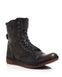 DIESEL - Black Tatradium Basket Butch Zip Boots for Men - Lyst