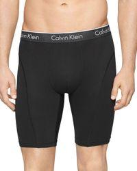 "Calvin Klein | Black Air Fx 9"" Cycle Shorts for Men | Lyst"