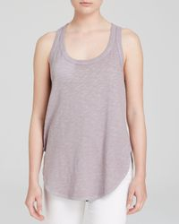 Wilt - Gray Top - Shirttail Tank - Lyst