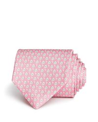 Ferragamo - Pink Octopus Classic Tie for Men - Lyst