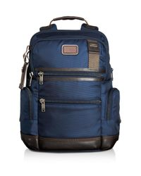 Tumi | Blue Alpha Bravo Navy Knox Backpack for Men | Lyst