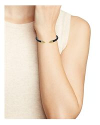 Vita Fede - Metallic Mini Titan Two-tone Crystal Cuff - Lyst
