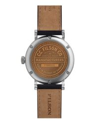 Filson - Black The Scout Watch, 45.5mm for Men - Lyst