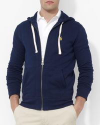 Polo Ralph Lauren | Blue Classic Full-zip Fleece Hoodie for Men | Lyst