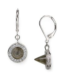 Eddie Borgo | Metallic Cone Drop Earrings | Lyst