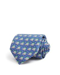 Vineyard Vines | Blue Woody & Tree Classic Tie for Men | Lyst