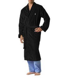 Polo Ralph Lauren | Black Ralph Lauren Kimono Robe for Men | Lyst