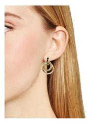 kate spade new york | Metallic Drop Earrings | Lyst