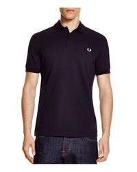 Fred Perry | Blue Slim Fit Piqué Polo Shirt for Men | Lyst