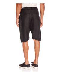 Chapter - Black Irro Drawstring Shorts for Men - Lyst