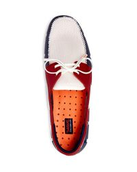 Swims - Blue Boat Loafers for Men - Lyst