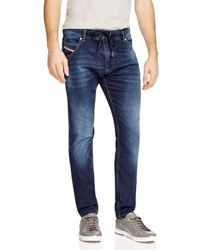 DIESEL | Blue Krooley Relaxed Fit Jogger Jeans In Denim for Men | Lyst