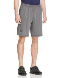 Under Armour   Gray Raid Active Shorts for Men   Lyst