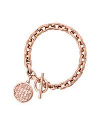 Michael Kors | Metallic Monogram Toggle Bracelet | Lyst