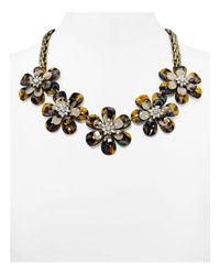 "BaubleBar - Black Twiggy Statement Necklace, 19"" - Lyst"