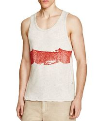 Sol Angeles - Red Plated Spray Wave Tank for Men - Lyst