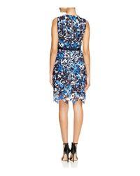 T Tahari - Multicolor Lincoln Printed Lace Dress - Lyst