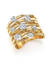 Marco Bicego - Metallic 18k Yellow Gold Marrakech Couture Ring With Diamonds - Trunk Show Exclusive - Lyst