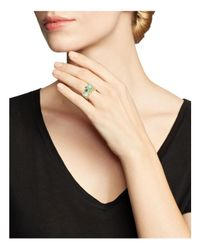 Ippolita - Green 18k Yellow Gold Rock Candy Gelato Semi-precious Multi-stone Ring In Waterfall - Lyst