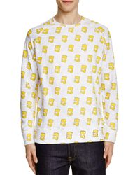 ELEVEN PARIS - Yellow Bart Simpson Sweatshirt - Compare At $98 for Men - Lyst