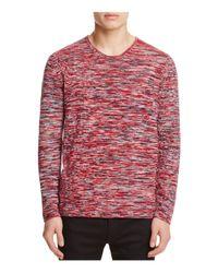 BOSS - Natural Hugo Melange Knit Sweater for Men - Lyst