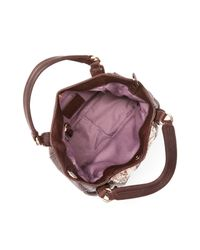 Kooba | Brown Jonnie Mini Snake-embossed Shopper Shoulder Bag - Compare At $298 | Lyst